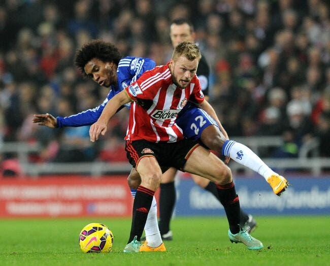 Chelsea accroché à Sunderland