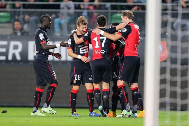 Rennes s'offre Monaco, Lens et Lorient respirent