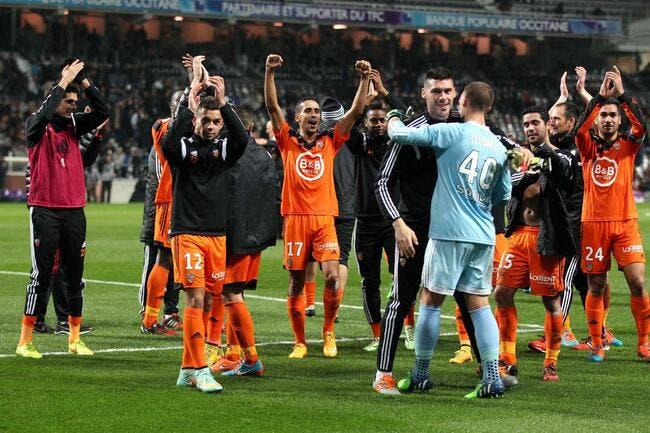Trois buts en cinq minutes, et Lorient coule Toulouse