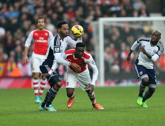 WBA - Arsenal : 0-1