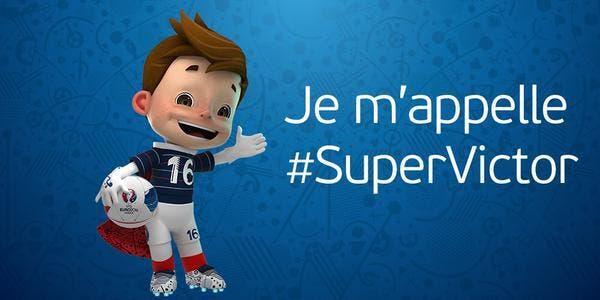 Euro 2016 : La mascotte baptisée... SuperVictor !