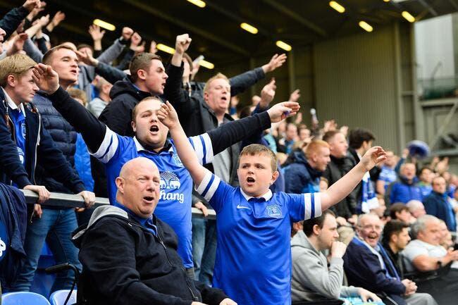 Everton envoie ses fans gratos à Lille pour les remercier