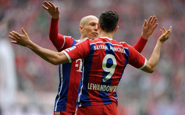 Bayern Munich - Hanovre : 4-0