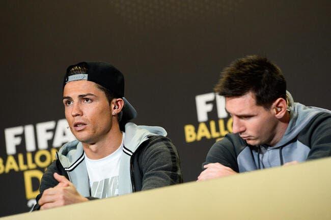Cristiano Ronaldo n'empêche pas Lionel Messi de dormir...