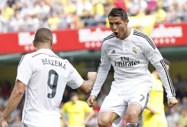 Cristiano Ronaldo Ballon d'Or ? Benzema vote oui !