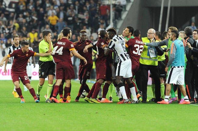 La Roma hurle sur l'arbitrage pro-Juventus