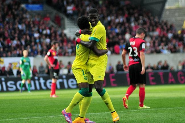 Nantes tape Guingamp et s'incruste devant