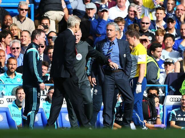 Aucune sanction contre Wenger après sa bousculade avec Mourinho