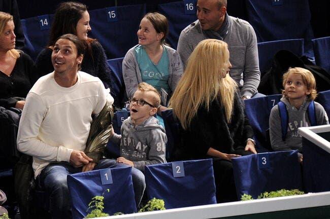 On ne rigole pas avec Papa Zlatan à la maison