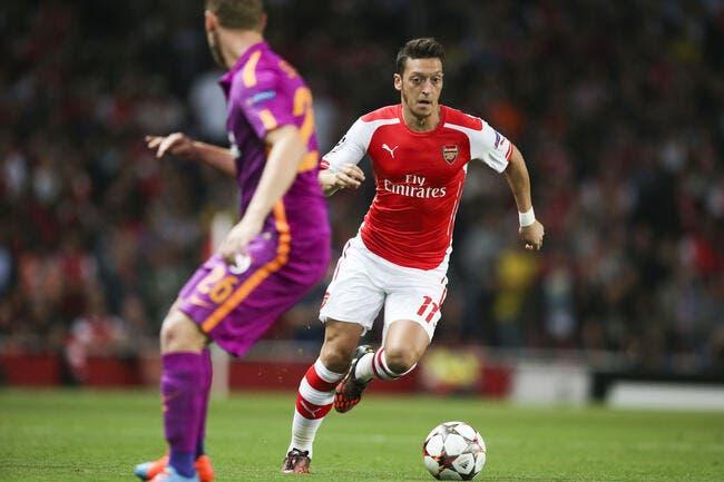 Arsenal privé d'Ozil pour trois mois !