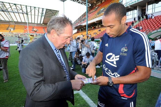 Non Thierry Henry n'est pas encore à la retraite