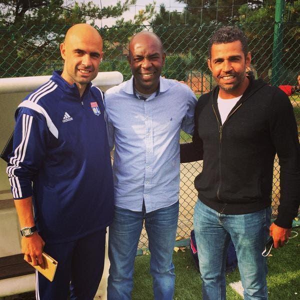 Photo : Le retour des légendes brésiliennes à l'OL
