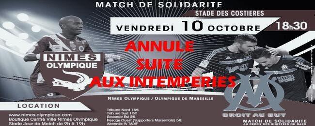 OM-Nîmes annulé, Marseille jouera Arles-Avignon