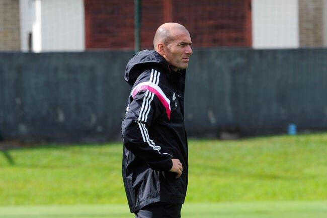 Zidane attend la durée de sa suspension