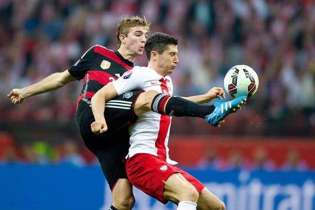 Pologne - Allemagne : 2-0