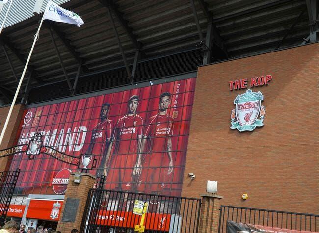 Liverpool refuse fermement de vendre le nom d'Anfield
