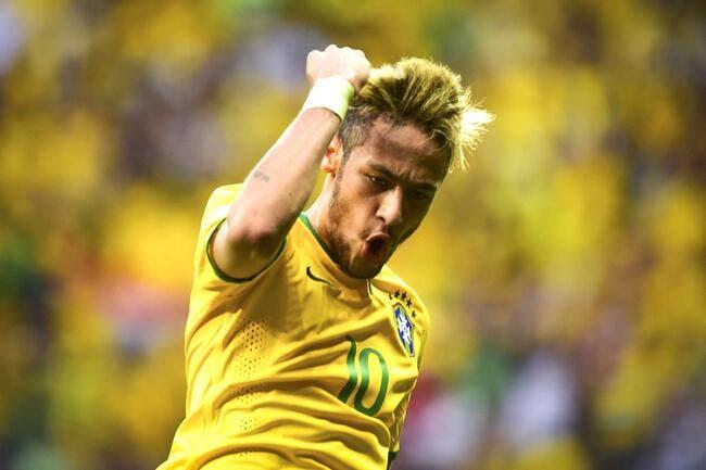 Neymar signe un quadruplé, le Brésil gagne 4-0