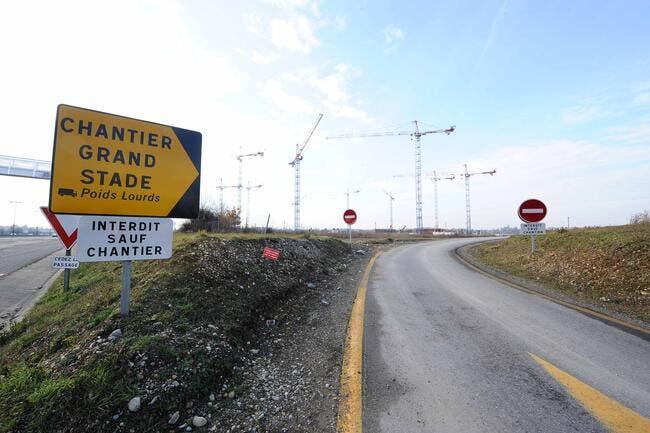 Grand Stade de l'OL, les travaux d'accès peuvent continuer