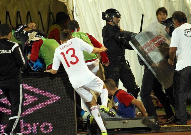 L'UEFA dévoile les fautes de la Serbie et de l'Albanie