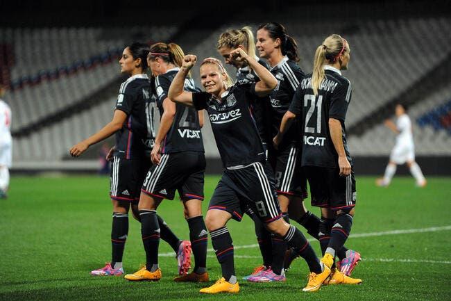 Les filles de l'OL atomisent Brescia et attendent le PSG