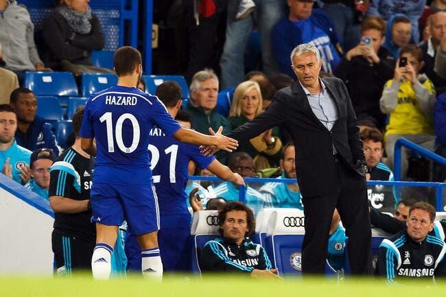 En fait, Hazard adore les critiques de Mourinho à Chelsea