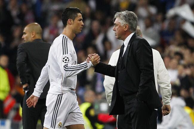 Cristiano Ronaldo ne bougera pas ordonne Ancelotti