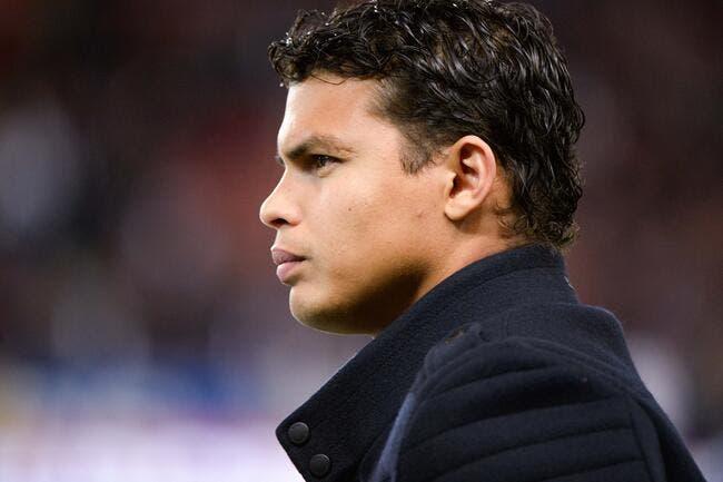 Thiago Silva, une triste raison explique son forfait