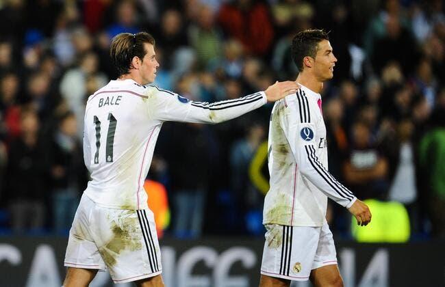 Cristiano Ronaldo et Bale en finale du 100m des JO ?