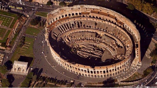 1500 ans après, la Roma rêve d'utiliser le Colisée