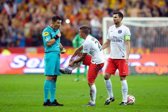 L'arbitre de Lens-PSG s'est fait secouer après le match