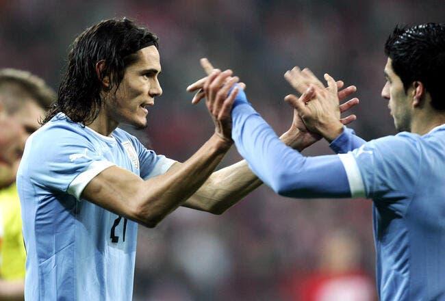 Le PSG a tenté en vain un échange Cavani-Luis Suarez