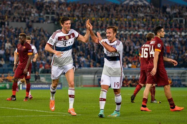 Roma – Bayern Munich 1-7