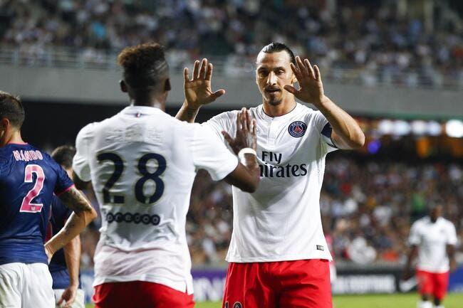 Ibrahimovic rigole des stats d'un coéquipier au PSG
