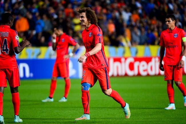 Le PSG n'a pas de quoi s'enflammer assure David Luiz