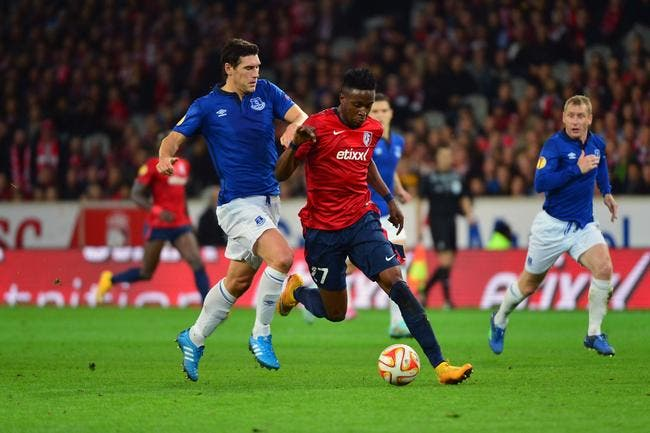 Everton bloque encore Lille