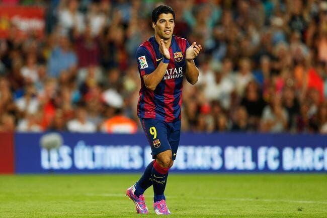 Real-Barça, Suarez ne débutera pas