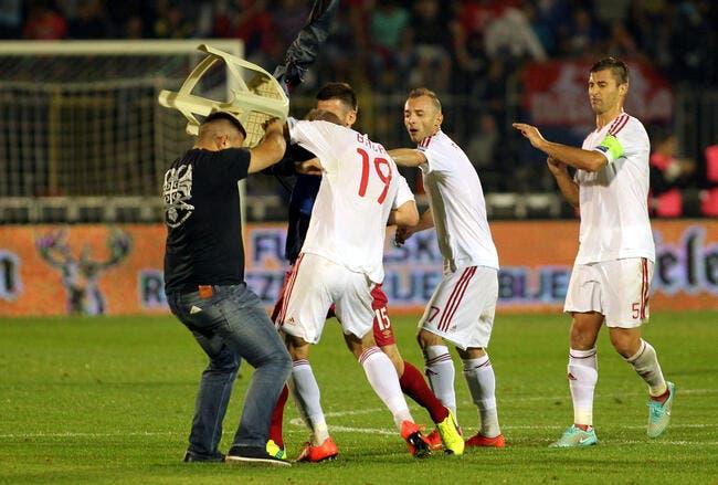 Serbie-Albanie, tout le monde a perdu décide l'UEFA