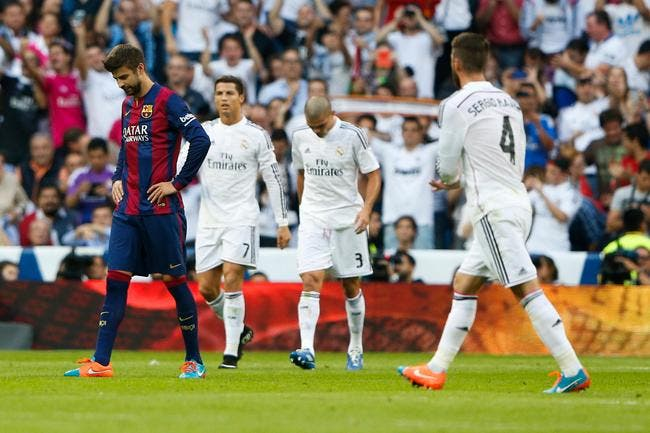 Real Madrid - FC Barcelone : 3-1