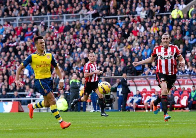 Sunderland - Arsenal : 0-2