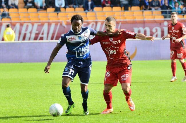 Troyes - Dijon : 1-0