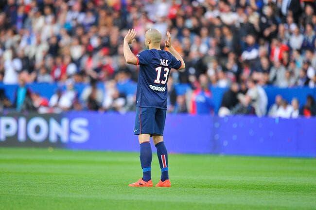 Alex revient avec classe sur son départ au PSG