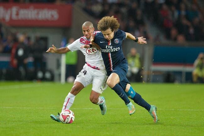 David Luiz le blessé mystère du PSG