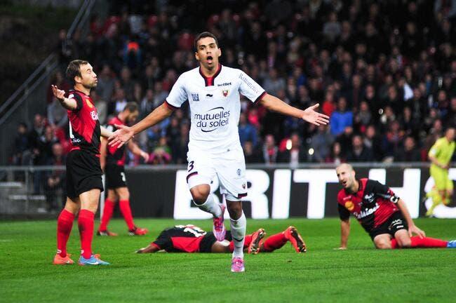 Nice et Eduardo font exploser Guingamp 7 à 2
