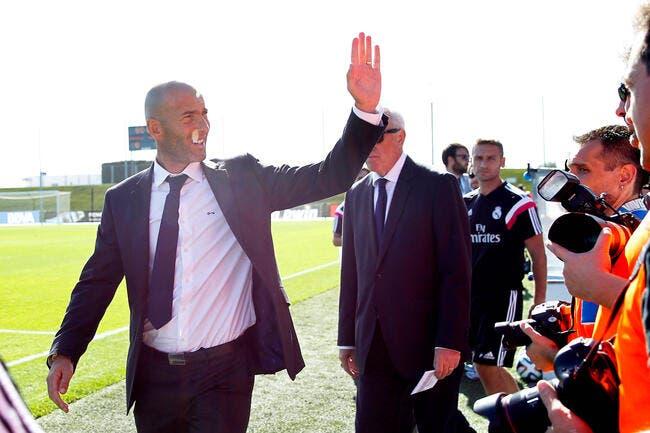 Le Real Madrid n'accepte pas la sanction contre Zidane