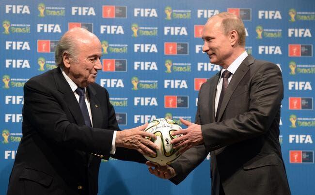 Retirer le Mondial à la Russie ? Blatter est cash