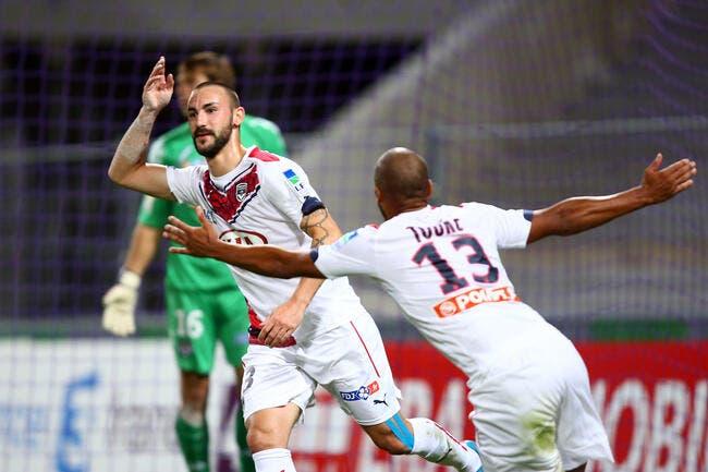 TFC - Bordeaux : 1-3