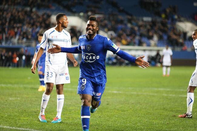 Djibril Cissé avait perdu l'habitude de marquer à Bastia