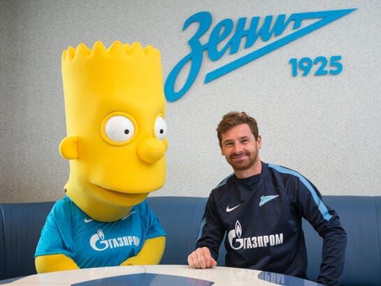 Bart Simpson signe au Zénith St-Pétersbourg !