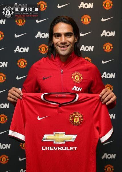 Falcao est officiellement un joueur de Manchester United !