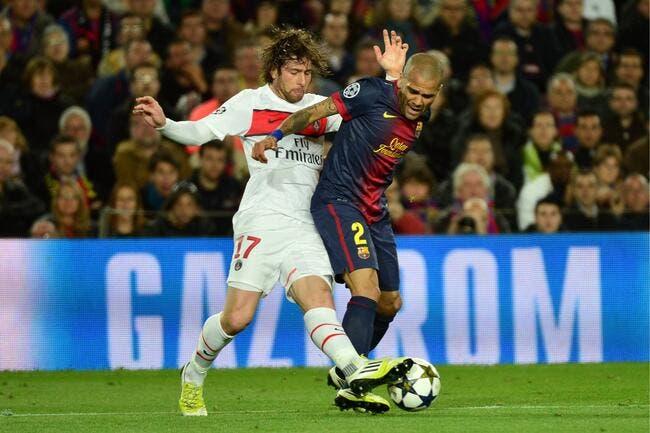 Le PSG heureux de se chauffer avec Barcelone